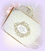 """Papiernictvo - Kniha hostí """"Nežná krása..."""" - 6457797_"""