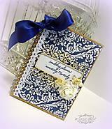 Papiernictvo - Kráľovský svadobný plánovač - 6457842_