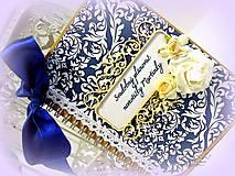Papiernictvo - Kráľovský svadobný plánovač - 6457886_
