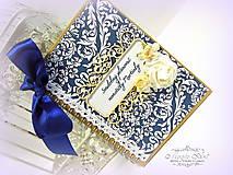 Papiernictvo - Kráľovský svadobný plánovač - 6457892_