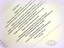 """Papiernictvo - Album pre rodičov """"Lovely"""" - 6457939_"""