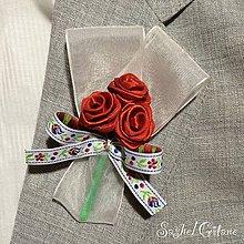 Pierka - Veľké svadobné pierka Classique - Folklore - 6457958_