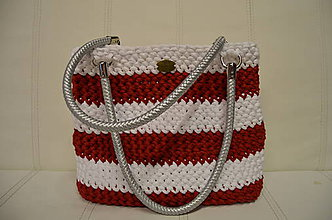Kabelky - red/white navy - 6457189_