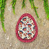 Dekorácie - Veľkonočné vajíčka z papiera - 6457525_