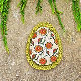 Dekorácie - Veľkonočné vajíčka z papiera - 6457541_