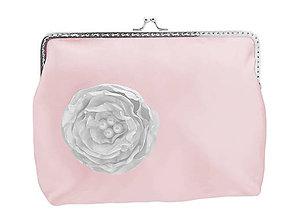 Taštičky - Svadobná kabelka růžová , kabelka pre nevestu 1485 - 6463152_