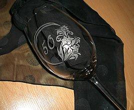 Nádoby - Gravírovaný pohár - 6462005_