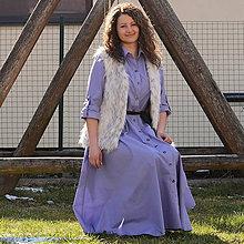 Šaty - Košeľové šaty. - 6458860_