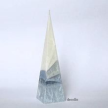 Svietidlá a sviečky - Grigio ihlan - 6459238_
