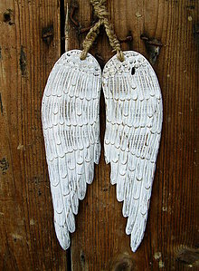 Dekorácie - Anjelské krídla - 6461094_