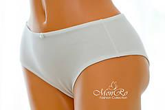 Bielizeň/Plavky - Dámske nohavičky klasické vyšší pás - 6459521_