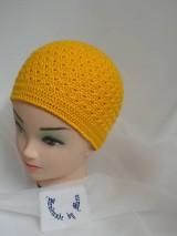 Detské čiapky - Háčkovaná čiapka - 6458516_