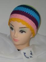 Detské čiapky - Háčkovaná čiapka - 6458549_