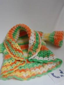 Detské oblečenie - Pletený kardigán /vesta/ - 6458581_
