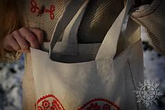 Nákupné tašky - Taška Srdiečko, ručne maľovaná - 6462347_