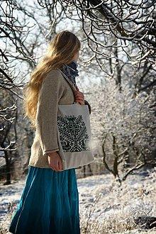 Nákupné tašky - Taška Strom života zelený - 6462456_