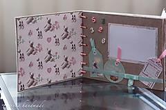 Papiernictvo - Fotoalbum (personifikovaný) (pre chlapčeka Modrá) - 6461135_