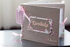 Papiernictvo - Fotoalbum (personifikovaný) (pre chlapčeka Modrá) - 6461137_