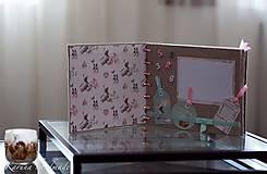 Papiernictvo - Fotoalbum (personifikovaný) (pre chlapčeka Modrá) - 6461140_