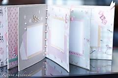 Papiernictvo - Fotoalbum (personifikovaný) (pre chlapčeka Modrá) - 6461144_