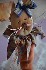 Dekorácie - Zajac Mrkvička - 6460900_