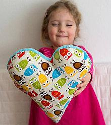 Textil - Sovie srdce - 6460397_