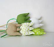 Dekorácie - Tulipány - zelený mix - 6459913_