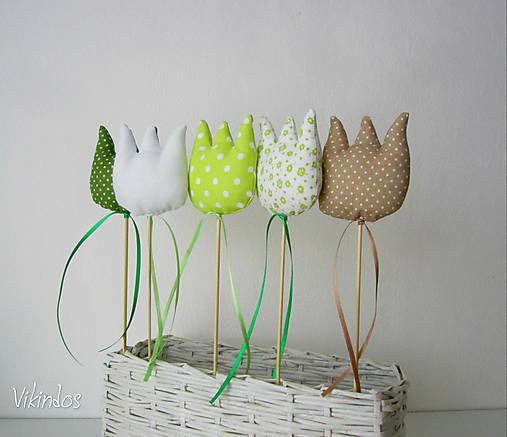 Tulipány - zelený mix