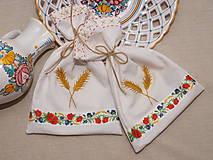 Úžitkový textil - ...vrecúško dožinkové... - 6461783_