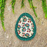 Dekorácie - Veľkonočné vajíčka z papiera - 6458687_