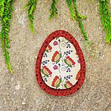 Dekorácie - Veľkonočné vajíčka z papiera - 6458688_