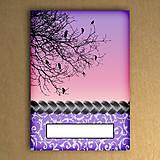 Papiernictvo - Haluzný mini zápisník 3 - 6461986_