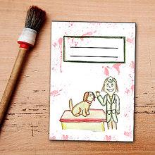 Papiernictvo - Zápisník pre veterinárov - pes - 6459292_