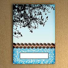 Papiernictvo - Haluzný mini zápisník - 6461988_