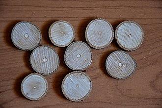 Polotovary - Bukové plátky 2 - 2,5 cm - 6466552_