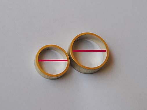 meracie krúžky na určenie veľkosti obrúčok