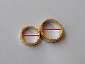Iné šperky - meracie krúžky na určenie veľkosti obrúčok - 6467689_