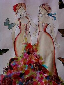 Kresby - Trošku kresba, trošku akvarel - 6465482_