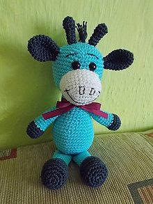 Návody a literatúra - návod na háčkovanú baby žirafu - 6465264_