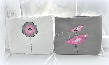 Textil - Podsedák na stoličku z kolekcie LOVE - 6468030_