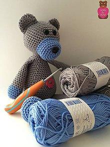 Návody a literatúra - Balíček na výrobu... Môj prvý medvedík, Meduško - 6466205_