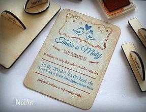 Papiernictvo - Sada pečiatok na svadobné oznámenia - 6467481_