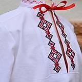 Červená folk košeľa II