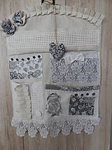 Úžitkový textil - Vintage organizér - 6464522_