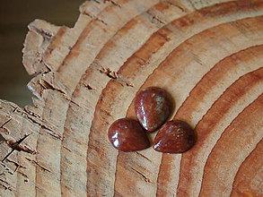 Materiál ručne robený - Keramické kapky - SET 3 ks - 6467360_