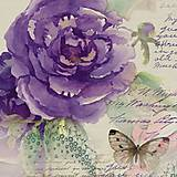 Papier - servítka Kvety - Miracle rose - 6466606_