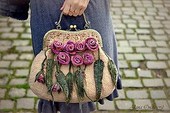 Kabelky - Vintage kabelka II.pre všetky romantické duše - 6466720_