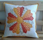 Úžitkový textil - Vankúš - Drážďanský tanier - 6465192_