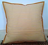Úžitkový textil - Vankúš - Pohoda III - 6465574_