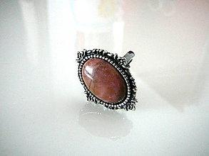 Prstene - Rodonit-ový - 6467842_